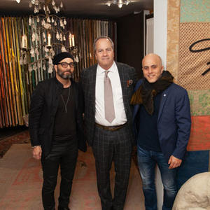 Fortuny launch at Dessin Fournir
