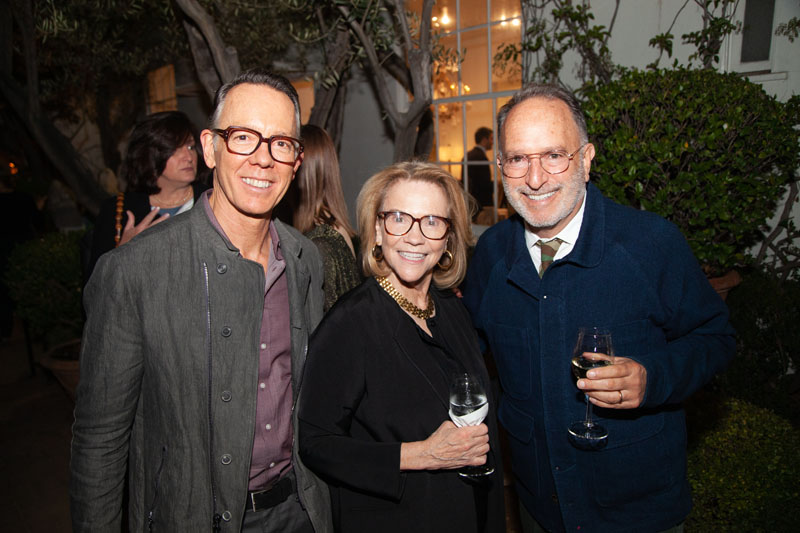 Philip Stites, Suzanne Rheinstein and Scott Flax