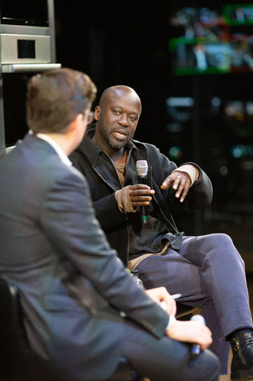 Spencer Bailey and Sir David Adjaye
