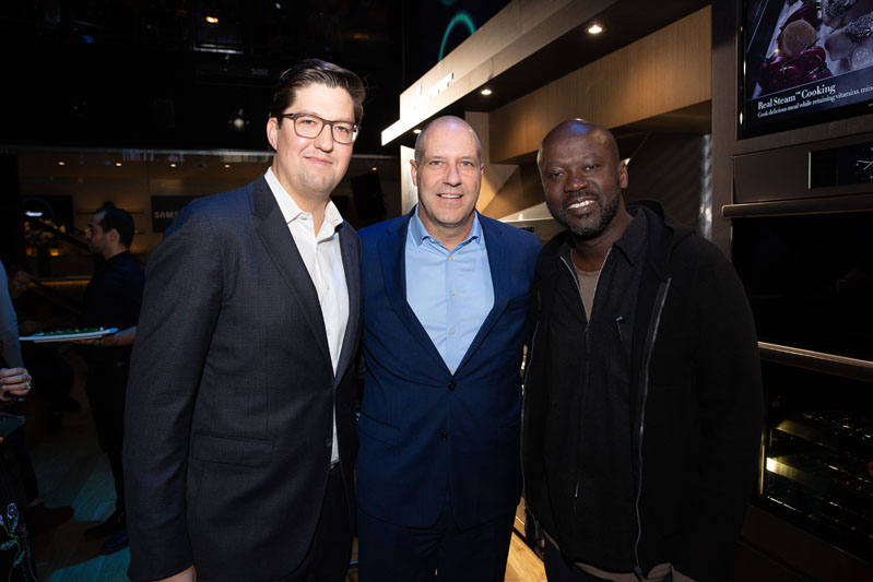 Spencer Bailey, Randy Warner and Sir David Adjaye