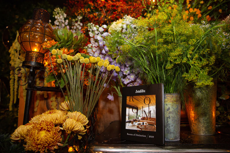 "Guests were given a copy of 1stDibs new book, ""Rooms of Distinction."""