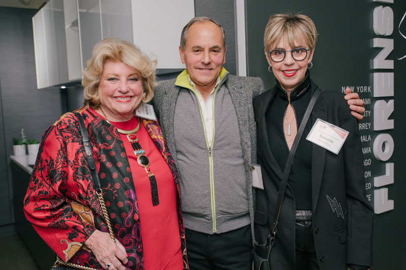 Barbara Ostrom, John Stedila and Bonnie Steves