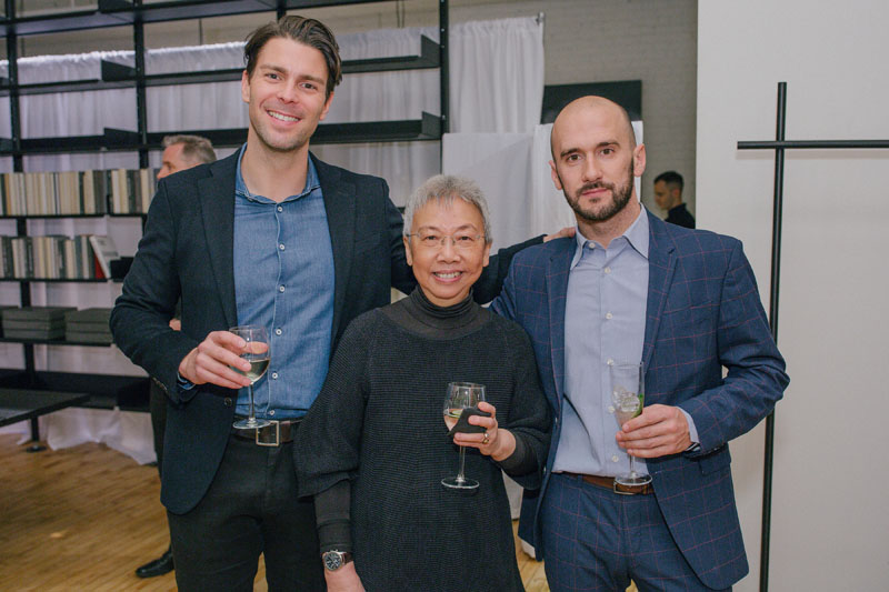 Marco Petrini, Lilian Leong and Salvatore Catalano