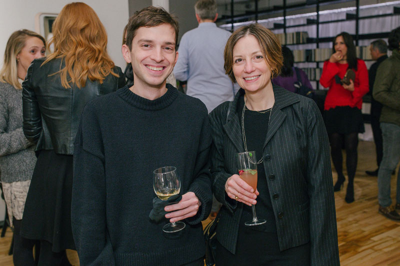 Sara Lopergolo (right) from Selldorf Architects