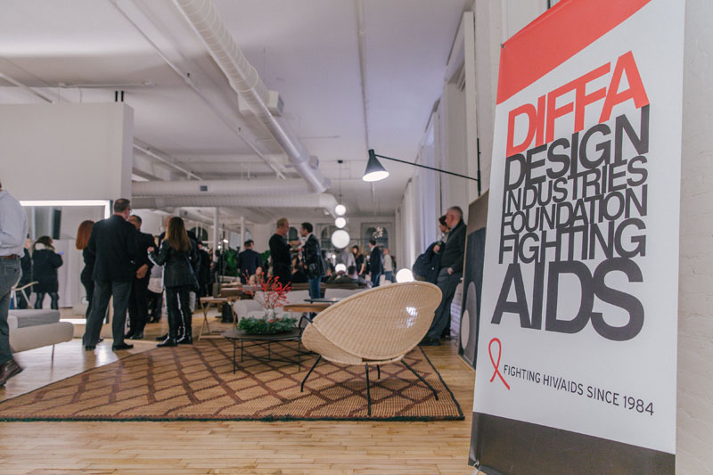 The gorgeous De Padova showroom celebration benefiting DIFFA