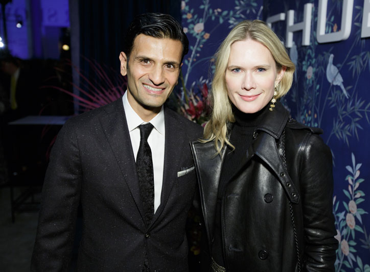 Aamir Khandwala, Stephanie March