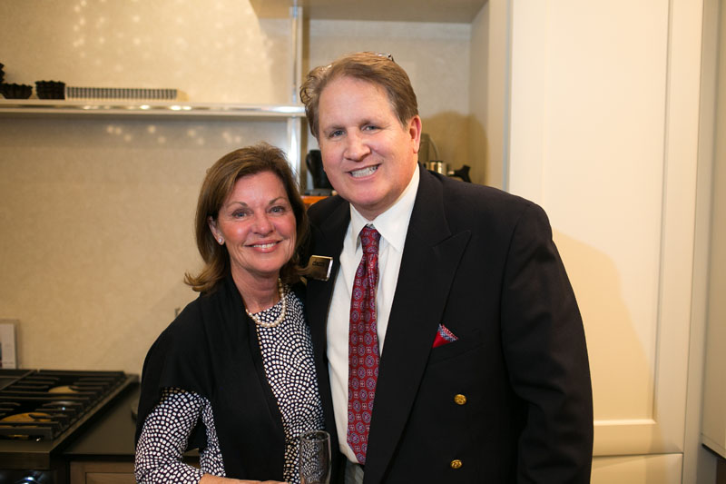 Marcia Speer and Dacor's Duncan Black