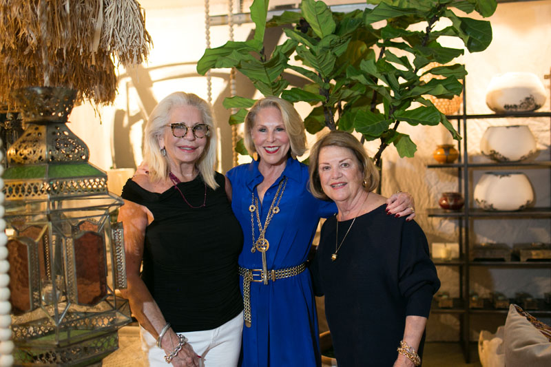 Lois Ponikvar, Jeri Buxton and Barbara McConaghy Johnson
