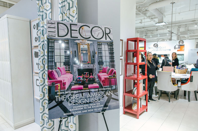 The 30th-anniversary event was co-hosted by Elle Decor.
