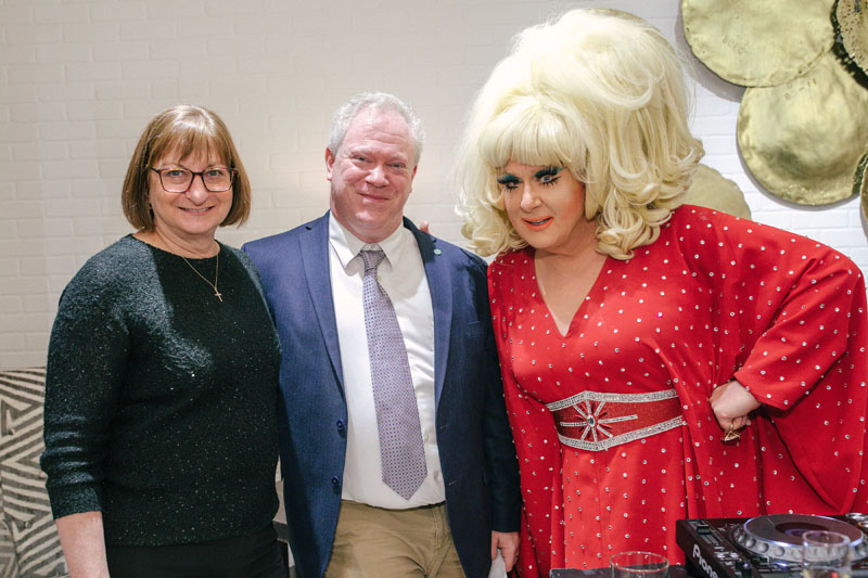Jane Clementi, Michael Jones and DJ Lady Bunny