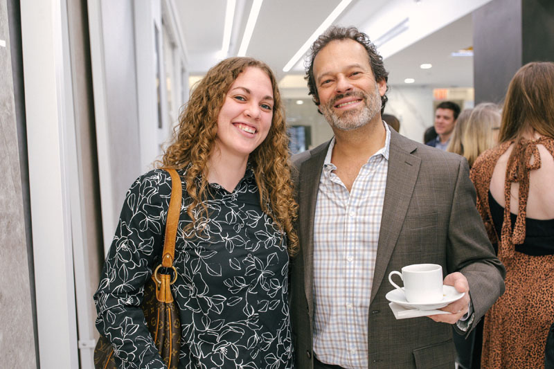 Heather Fiore and Bruce Bachrach