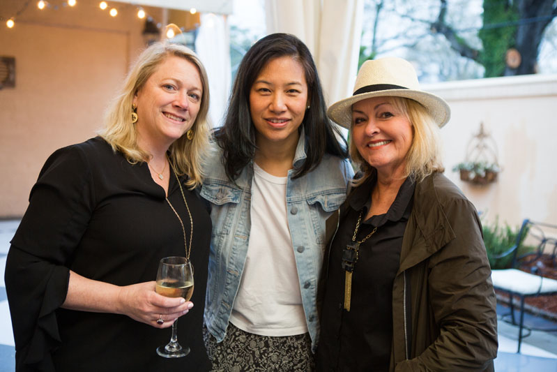 Allison Mattison, Jean Liu and Lisa Mende