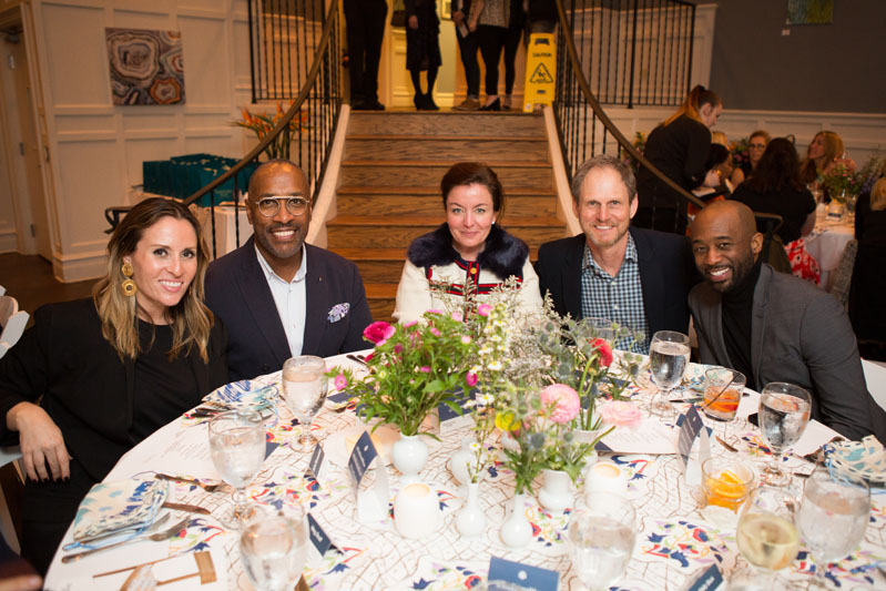 Jaime Rummerfield, Ron Woodson, Anna Brockway, Gregg Brockway and Mikel Welsh