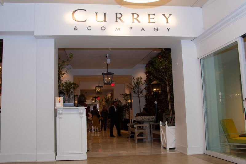 Currey & Co. hosted the event in their High Point showroom.