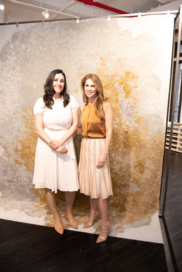 Ariana Massouh and Juliana Polastri, collection design team for Tai Ping/Edward Fields