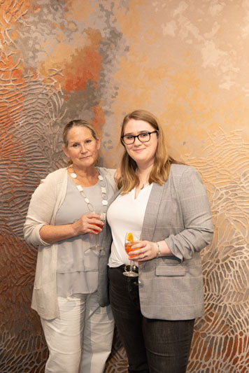 Tai Ping's Sarah Plank and Linda Hauser of S.R. Gambrel