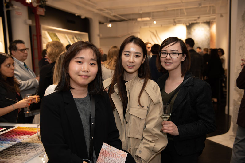 1100 Architect's Suh Young Hwang, Minji Kim and Kaitlyn Rafferty