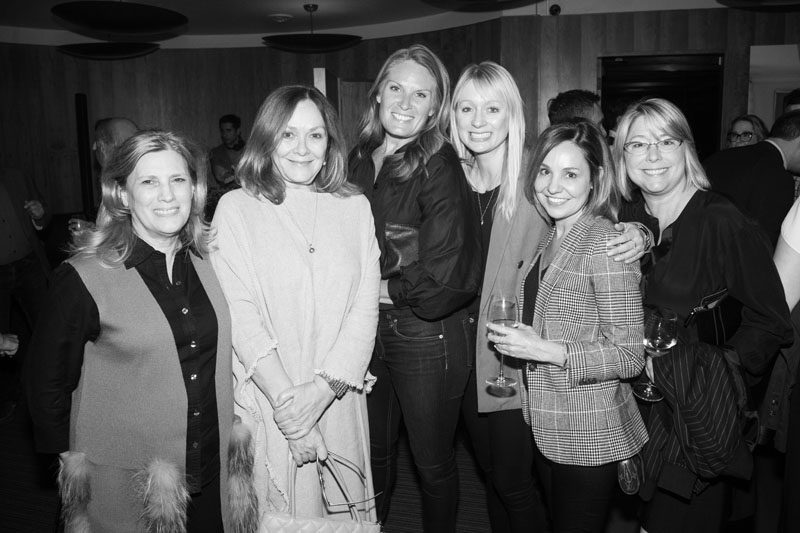 Suma Lipari of RH West Hollywood, Joanne Meideros, Christy Hannaford, Bobbi Stalker, Laura Upton, and Tiffany Taylor-Serva