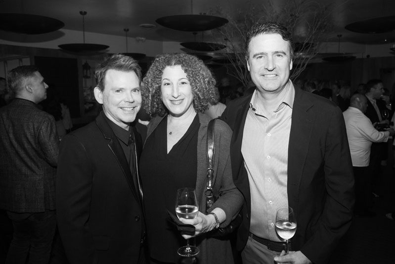 Jeff Andrews, Rachel Janowitz of Scott Group Studio, and John Hart, CEO of Scott Group