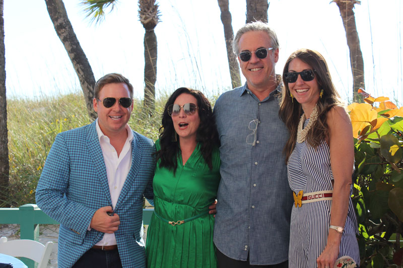 Christopher Kennedy, Kristin Kong, Robert Brown and Charlotte Lucas