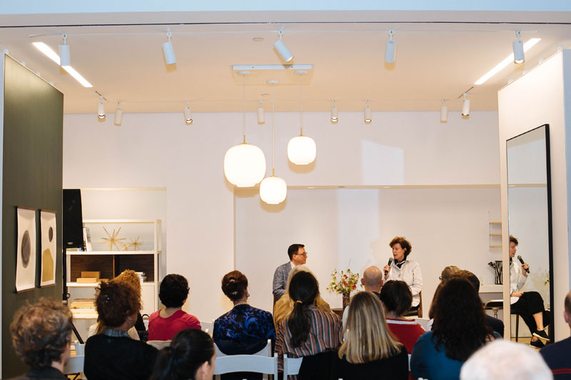 Over 50 guests joined at the Upper West Side showroom.