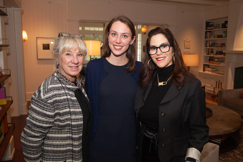 Carolyn Englefield, Dayle Wood and Jami Gertz
