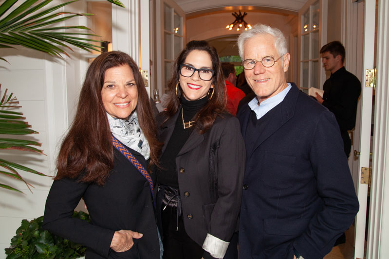 Sue Smalley, Jami Gertz and Kevin Wall