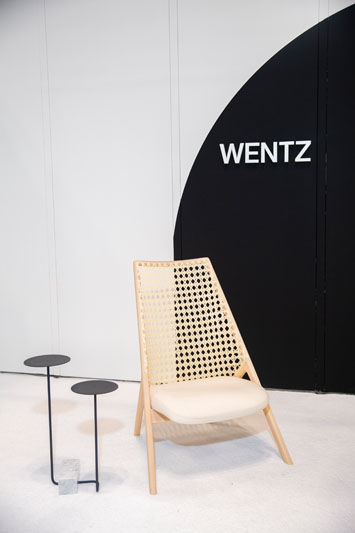 Guilherme Wentz's booth