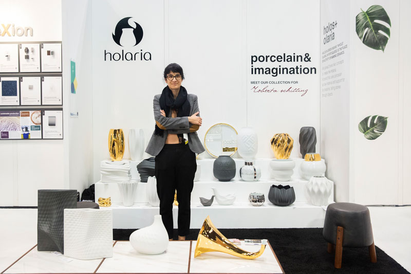 The Holaria booth