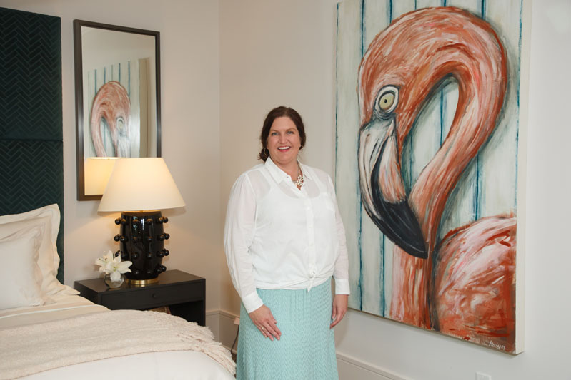 Paige Sumblin Schnell of Tracery Interiors