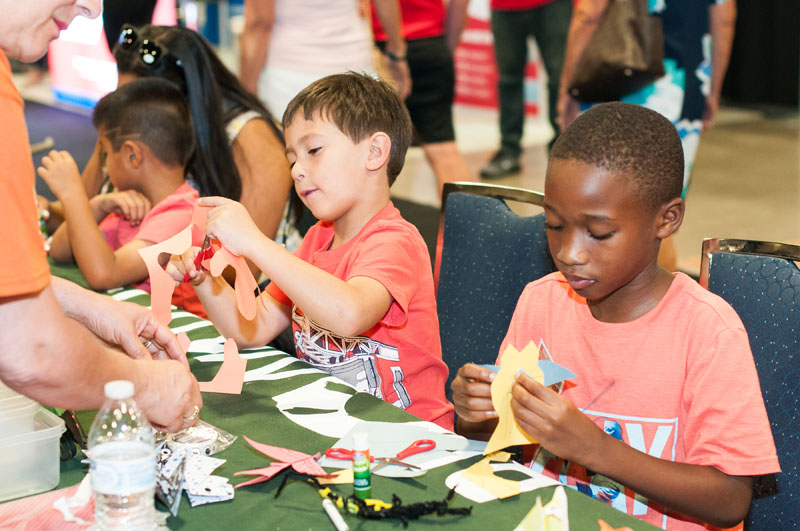 Family activities were provided by Broward Parks and Recreation.