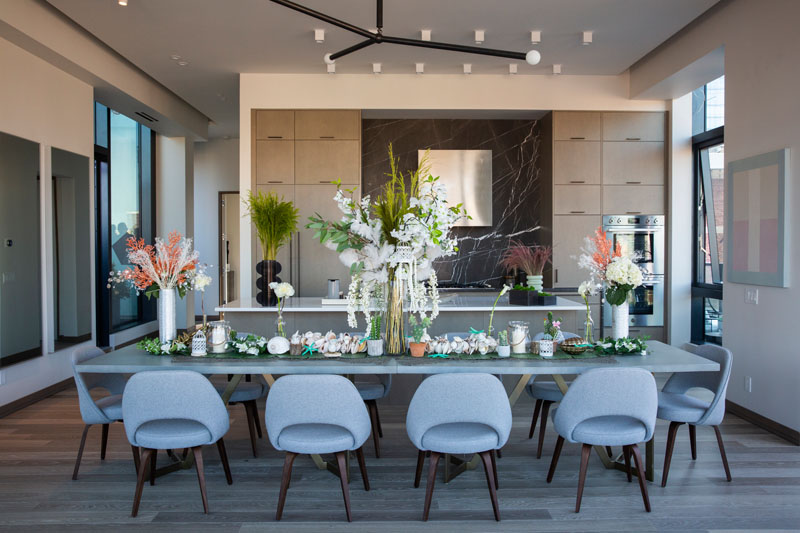 Tablescape designed by Le Scaped (co-founded by Jessica Forem and Katie Alliotts)