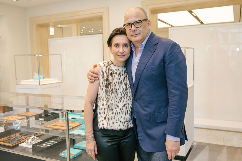 Delphine Krakoff and Reed Krakoff
