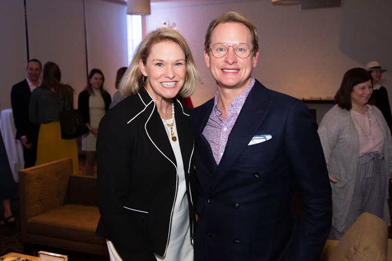 Libby Langdon and Carson Kressley