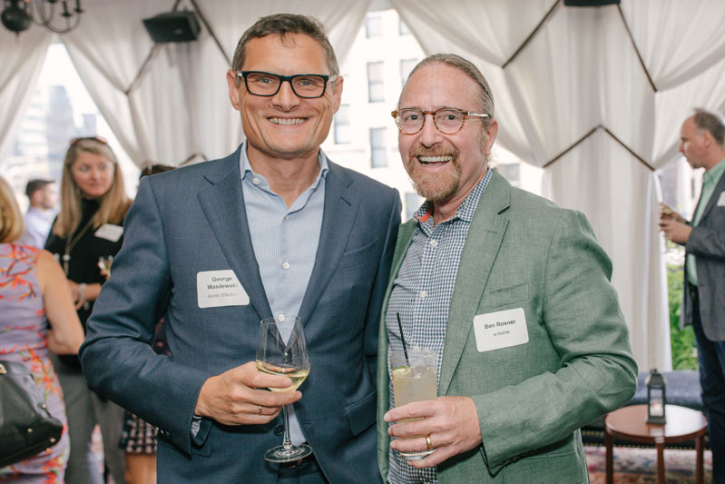 George Wasilewski of Apollo Electric and Ben Rosner of e-home