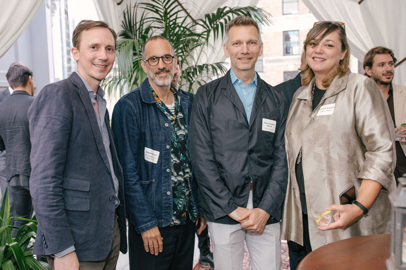Greg Dufner of Dufner Heighes, Adam Rolston of INC Architecture & Design, Daniel Heighes Wismer of Dufner Heighes and Kimberly Sheppard of Gabellini Sheppard