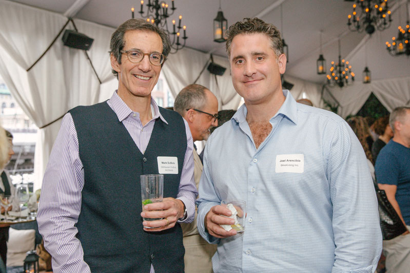 Mark DuBois of Ohlhausen DuBois Architects and Joel Arencibia of SilverLining