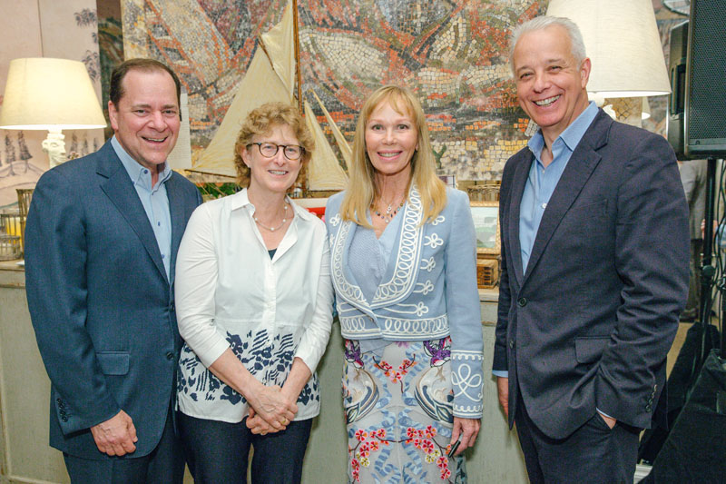 Cary Kravet, Lisa Kravet, Kit Kemp and Martin Waller