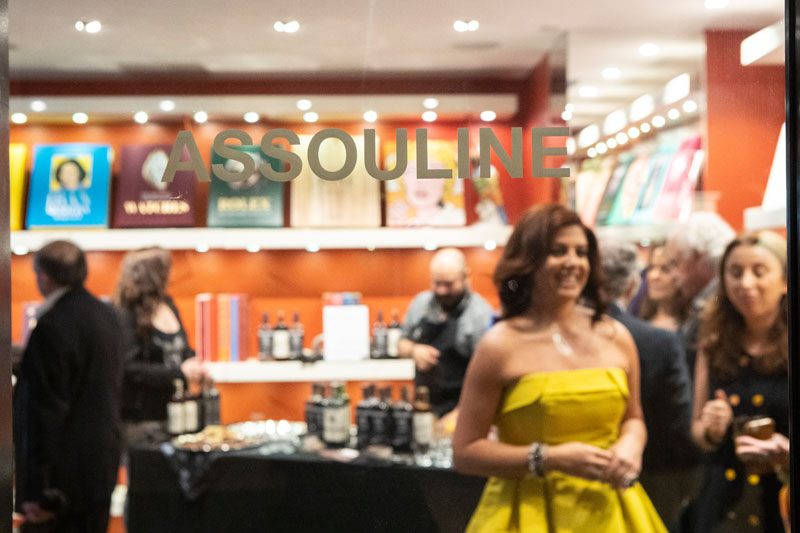 Olga Hanono celebrated at Assouline's boutique at the Four Seasons Hotel