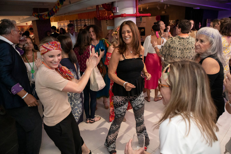 Guests including Tiffany Tipton, Barbara Kessler, Doris Amsterdam Bachman, Paula Smith, Benjamin Huntington , Andrea Algaze and Jennifer Munich tore up the dance floor