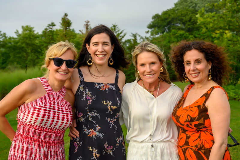 Donna Herman, Katie Brockman, Jennifer Post and Pamela Jaccarino