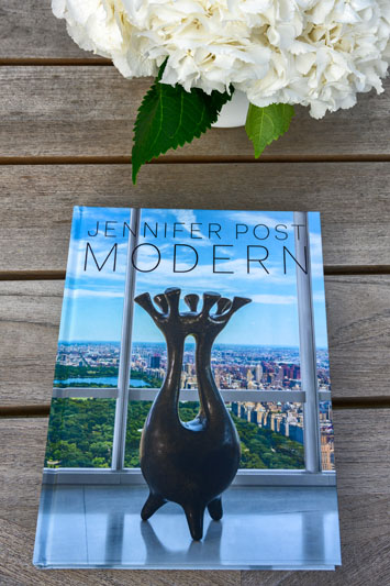 Guests received copies of 'Jennifer Post: Modern.'