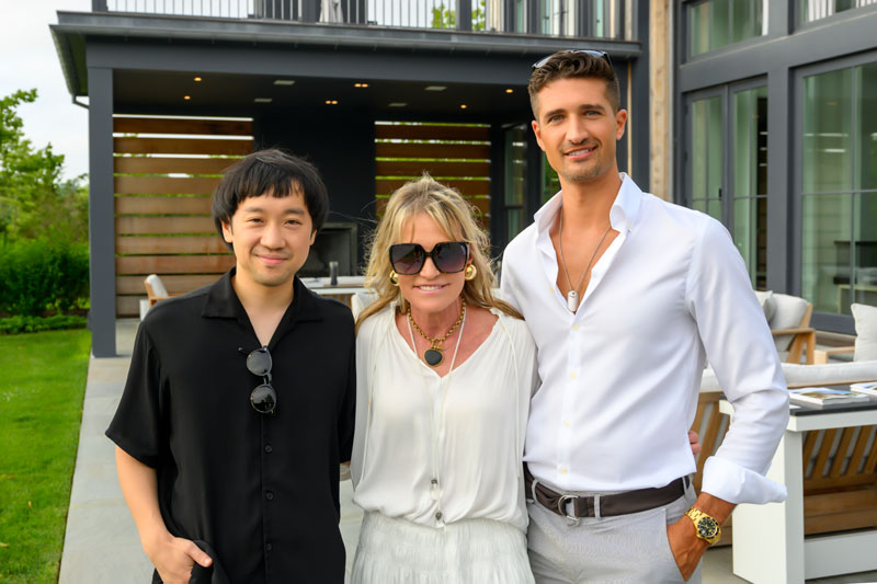Motoki Asaoka, Jennifer Post and Franco Rivera