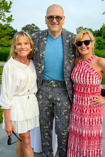 Jennifer Post, Russell Glotfelty and Donna Herman