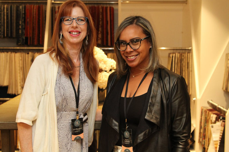 Lysa Desnoyers and Sondra Seecharan of The Shade Store