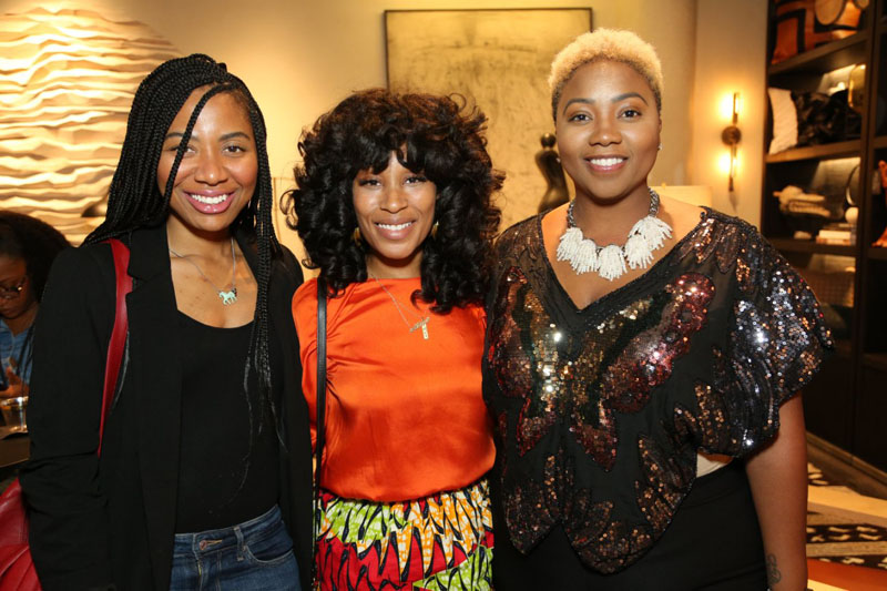 Dominique Davis, Keia McSwain and Ariel G. Chen