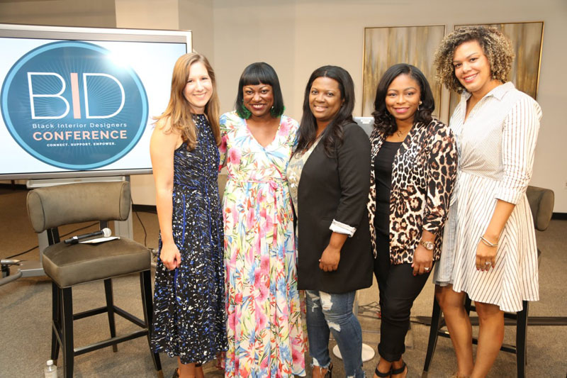 Kaitlin Petersen, Cheryl Luckett, Veronica Solomon, Rasheeda Gray and Laura Thurman