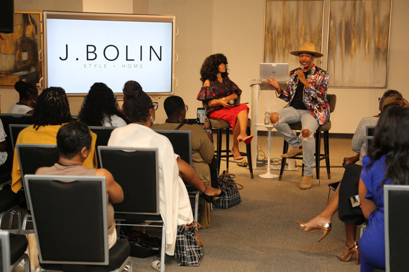 Keia McSwain interviews celebrity stylist Jason Bolin.