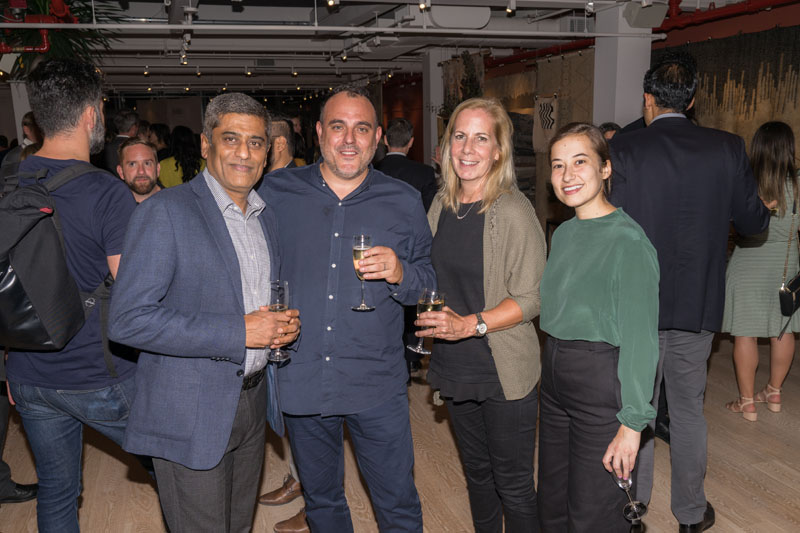 Vimo Kumar, Jonathan Parkes, Genie Secoji and Laura Hayes Obiti