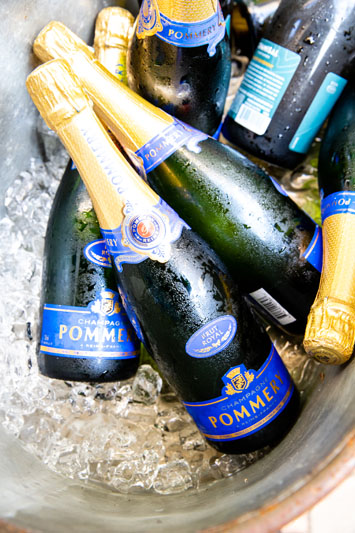 Champagne from Pommery